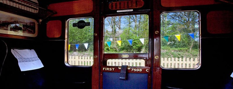Bluebell Railway Inside Carriage