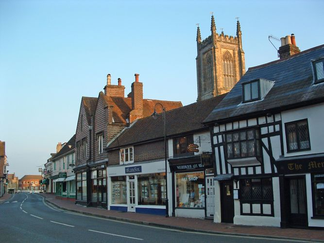 East Grinstead's Historic High Street