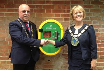 New Defibrillator installed at East Court