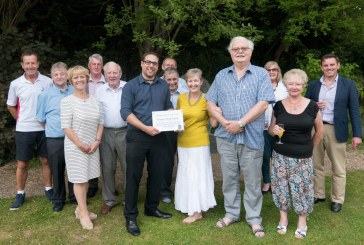 Chequer Mead Friends Honoured with Plaque
