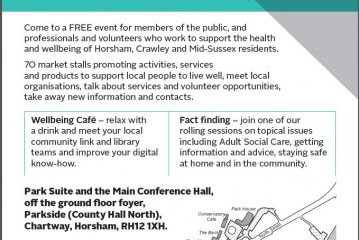 Health and Wellbeing Market Place event