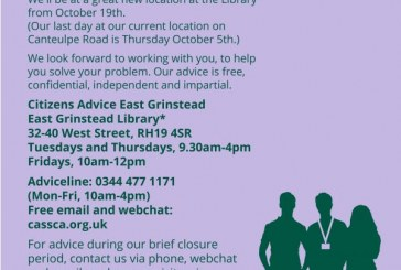 East Grinstead Citizens Advice.