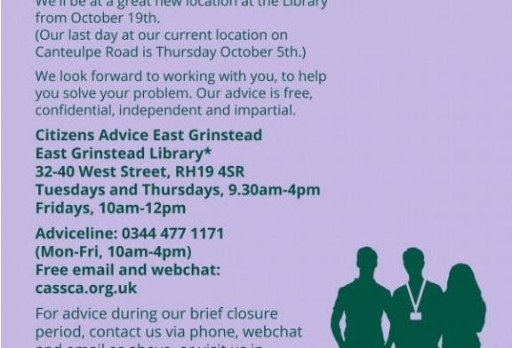 East Grinstead Citizens Advice.