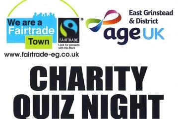 Age UK Charity Quiz Night – Monday 15 January
