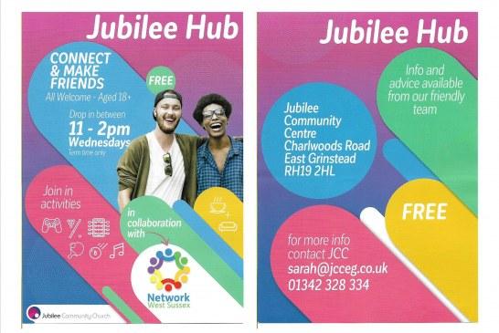 Jubilee Hub Drop in Service