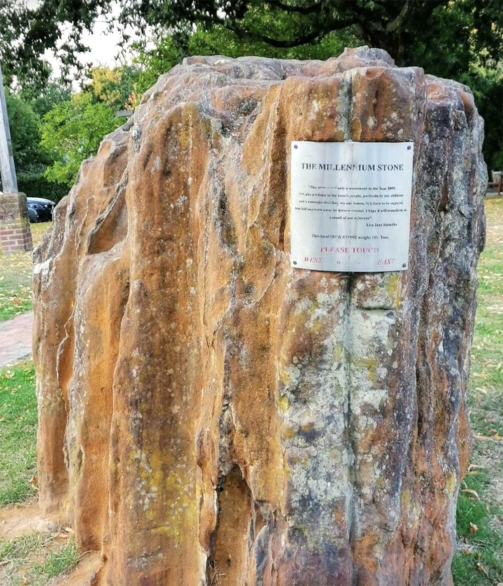 Millennium Stone Plaque