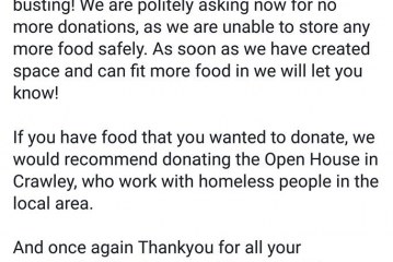 Good News East Grinstead Foodbank!