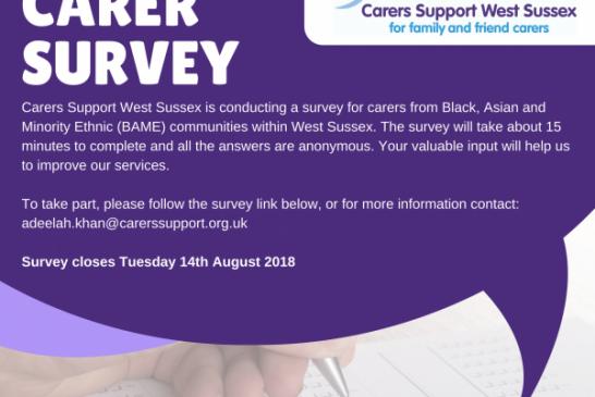 Council News; Carers Survey.