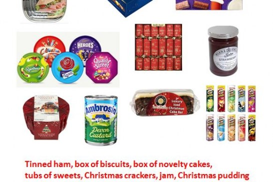 East Grinstead Foodbank – 2018 Christmas Items