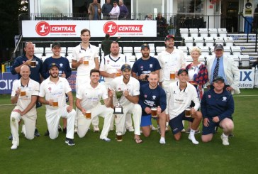 East Grinstead Cricket 1st XI lifts the Sussex League T20 Cup in dramatic fashion at Hove