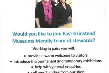 Looking for Volunteers – East Grinstead Museum