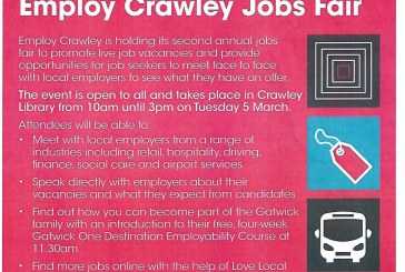 Crawley Jobs Fair