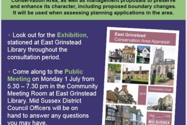 East Grinstead Conservation Area Appraisal – Public Meeting