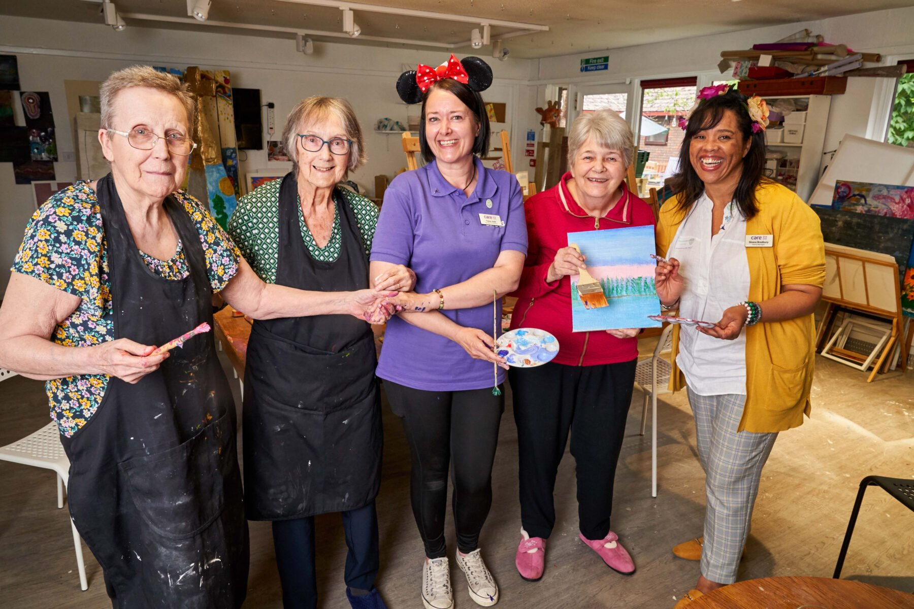 Get creative with East Grinstead care home this Care Home Open Day