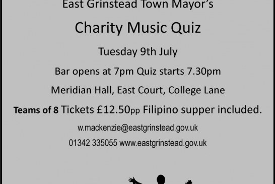 East Grinstead Town Mayor Charity Quiz.