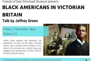 Black Americans in Victorian Britain, talk by author Jeffrey Green