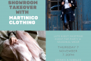 SHOWROOM TAKEOVER WITH MARTINICO CLOTHING!