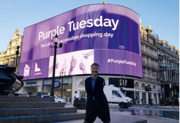 Plus one on Purple Tuesday
