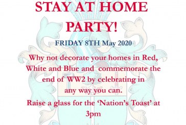 East Grinstead Town Council News. VE Day 'Stay at Home Party'