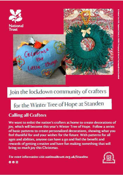 East Grinstead Crafters; Standen needs you!