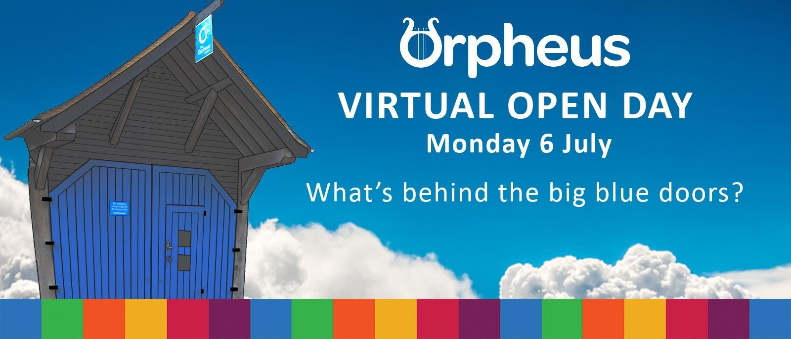 Orpheus Centre announces first virtual Open Week