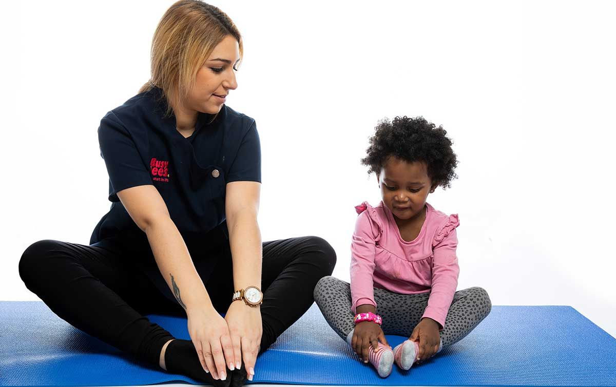 Child's pose: East Grinstead nursery launches nursery rhyme yoga