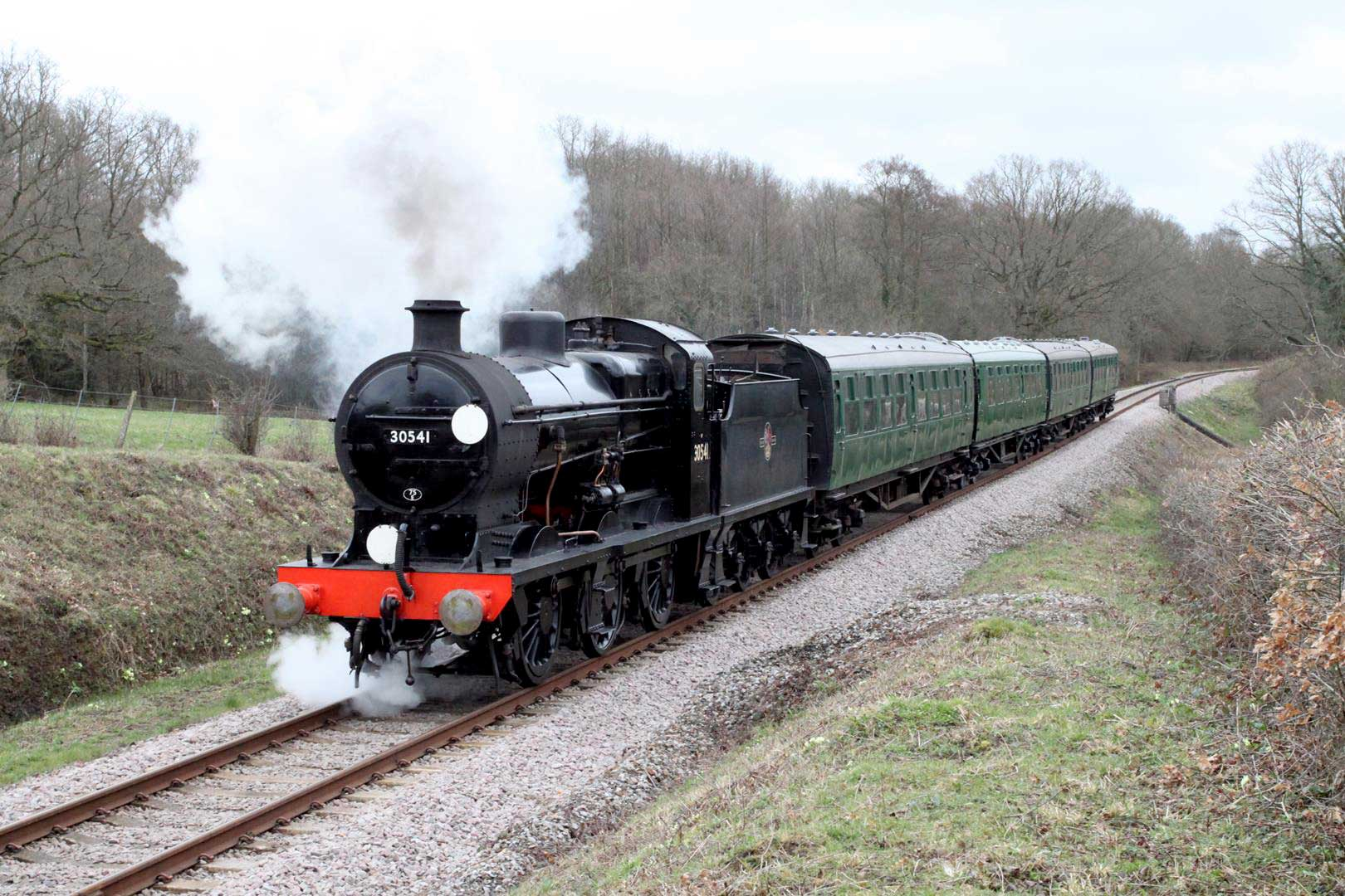 Bluebell Railway announces 20 May provisional reopening date