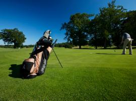 Golfer at Chartham Park Course