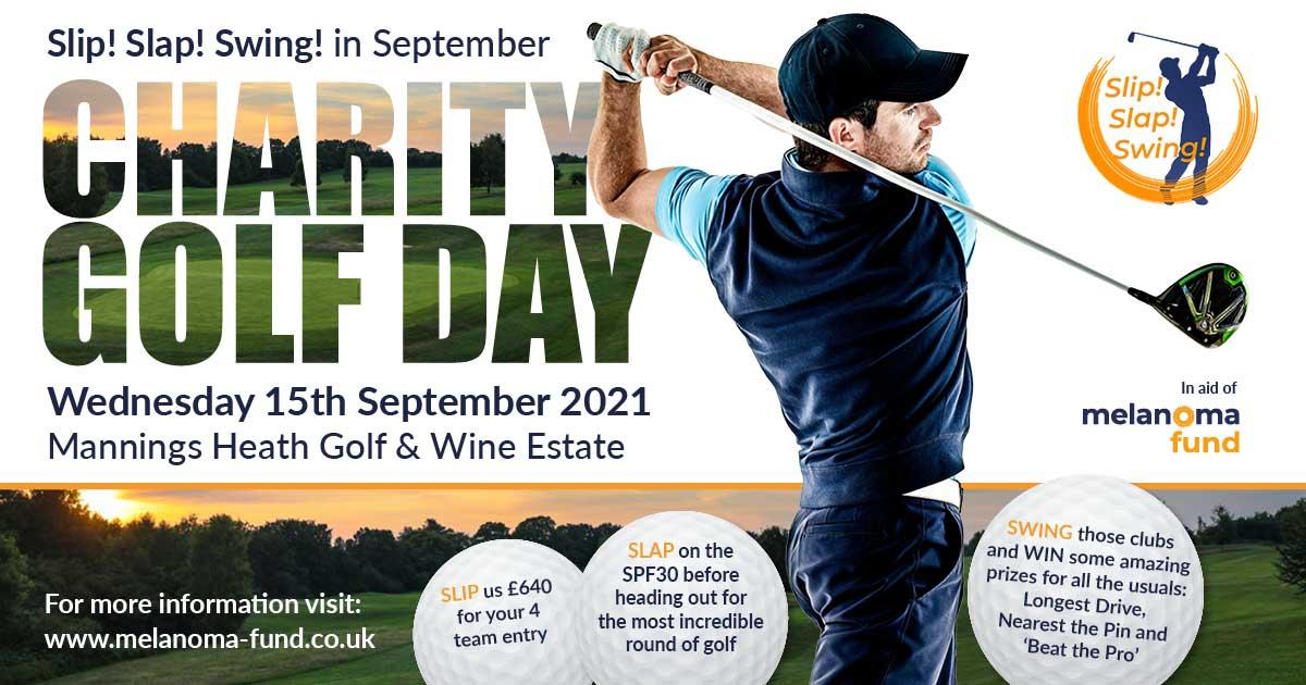 Charity Golf Day – Slip! Slap! Swing! in September
